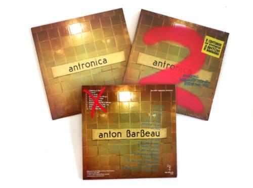 "Anton Barbeau, ""Antronica 1 & 2"""