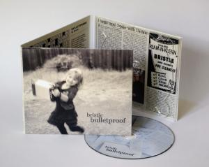 "Bristle, ""Bulletproof"" front cover"