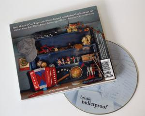 "Bristle, ""Bulletproof"" back cover"